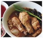 Mrs. Low's Kitchen: Red Rice Wine Paste Chicken Soup