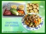 Crispy Fried Beef Noodles