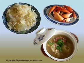 Shark Fin Soup with Crab Meat