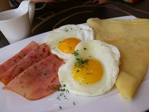 American breakfast!