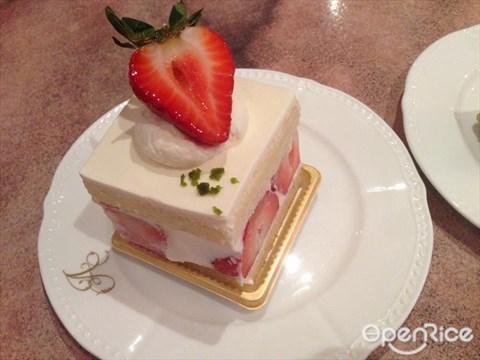 Shortcake sponge