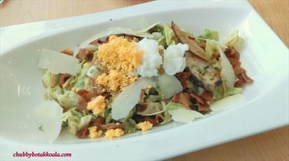 Grilled Octopus Caesar Salad